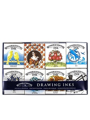 Winsor And Newton Henry Collection Drawing Ink Pack Each (1090093)