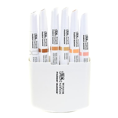 Winsor And Newton Pigment Marker Sets Skin Tones A Set Of 6 (0290045)