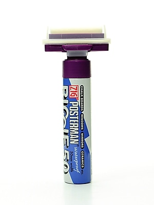 Zig Posterman Biggie 50 Markers Violet [Pack Of 2] (2PK-PMA150-080)