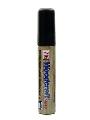 Zig Woodcraft Markers Black Big Squared [Pack Of 3] (3PK-PWC-120-010)