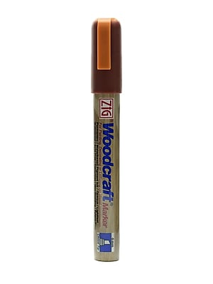 Zig Woodcraft Markers Brick Red Chisel [Pack Of 6] (6PK-PWC-50-204)
