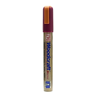 Zig Woodcraft Markers Cabernet Chisel [Pack Of 6] (6PK-PWC-50-844)