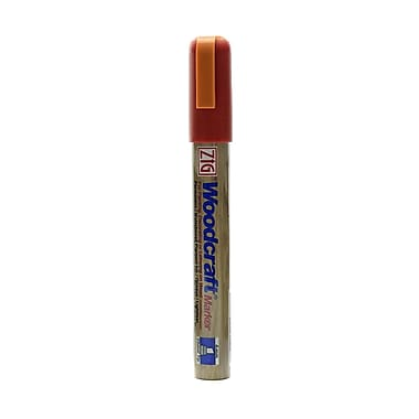 Zig Woodcraft Markers Jubilee Cherry Chisel [Pack Of 6] (6PK-PWC-50-203)