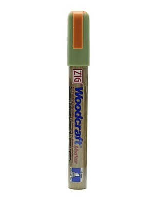 Zig Woodcraft Markers Moss Green Chisel [Pack Of 6] (6PK-PWC50-442)