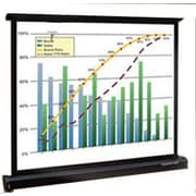 "Grandview 40"" Diagonal Table Top Projector Screen, 4:3 (PT-U40)"