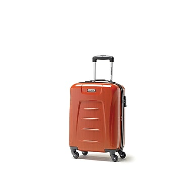 Samsonite Winfield 3 Fashion Spinner Carry-on Widebody, Orange, (75390-1641)