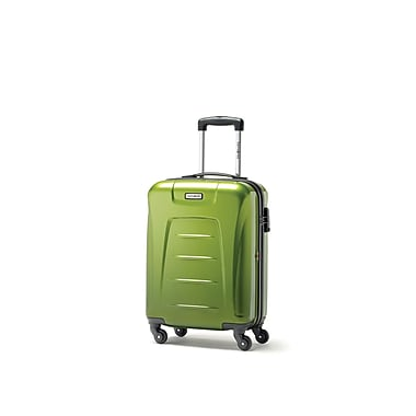 Samsonite Winfield 3 Fashion Spinner Carry-on Widebody, Green, (75390-4908)
