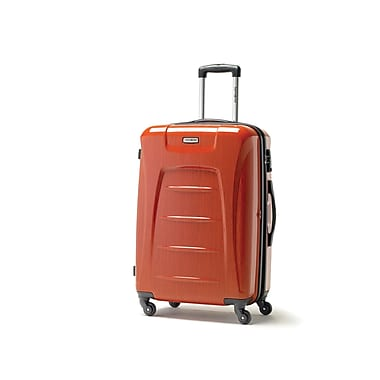 Samsonite – Moyenne valise à roulettes tendance expansible Winfield 3, orange (75391-1641)