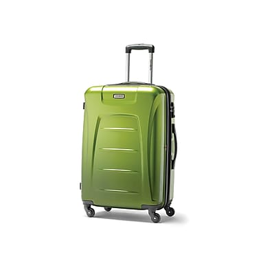Samsonite Winfield 3 Fashion Spinner Large Expandable, Green, (75392-4908)