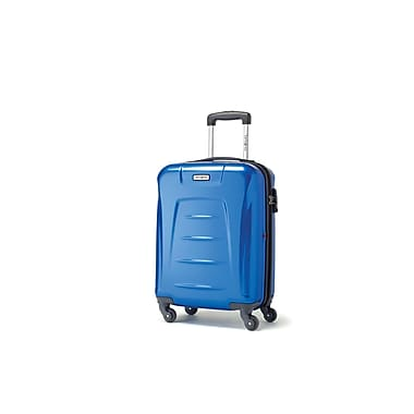 Samsonite Winfield 3 Spinner Carry-on Widebody, Blue, (73439-1090)