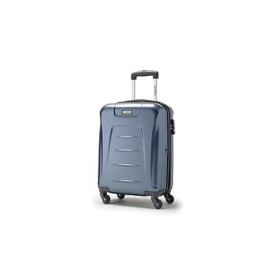 Samsonite Winfield 3 Spinner Carry-on Widebody, Blue Slate, (73439-1101)