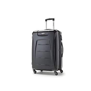 Samsonite Winfield 3 Spinner Medium Expandable, Black, (73440-1041)