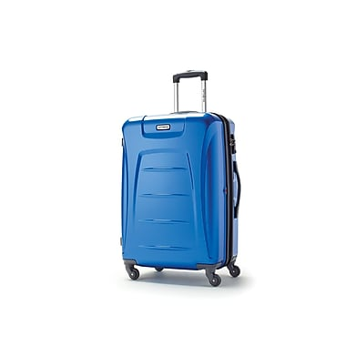 Samsonite – Moyenne valise à roulettes expansible Winfield 3, bleu, (73440-1090)