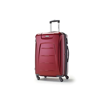 Samsonite Winfield 3 Spinner Medium Expandable, Dark Red, (73440-1267)