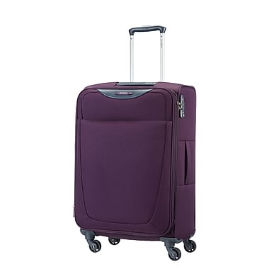 Samsonite Base Hits Spinner Medium Expandable, Purple, (59144-1717)