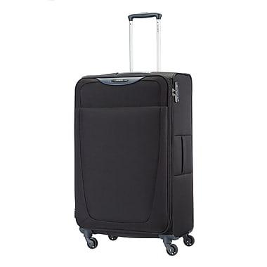 Samsonite – Grande valise à roulettes expansible Base Hits, noir (59145-1041)