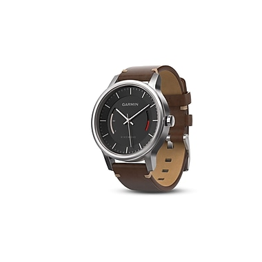 Garmin vivomove™ Premium Activity Tracker with Leather Band
