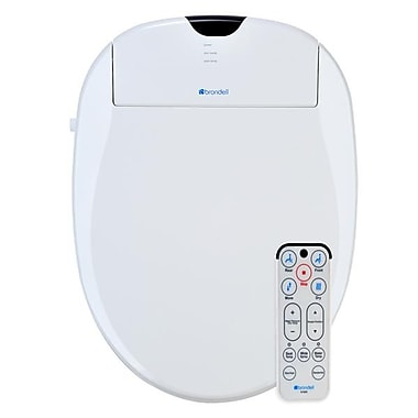 Brondell S1000-EW Swash 1000 Advanced Bidet Toilet Seat-Elongated, White