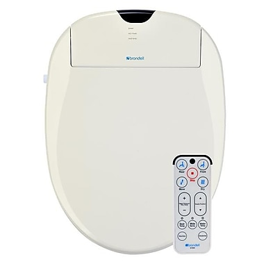 Brondell S1000-EB Swash 1000 Advanced Bidet Toilet Seat-Elongated, Biscuit