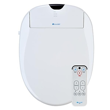 Brondell S900RW Swash 900 Advanced Bidet Toilet Seat, Round, White