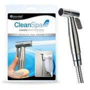 Brondell CSL-40 CleanSpa Luxury Hand Held Bidet Shattaf Sprayer, Silver