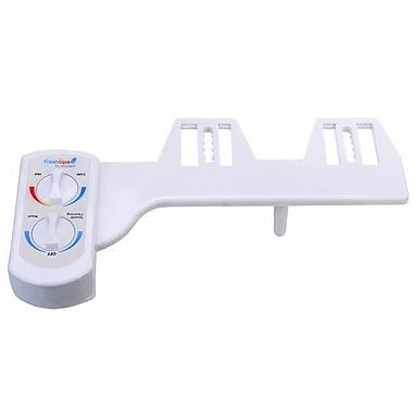 Brondell FSW-20 FreshSpa Dual Temperature Bidet Attachment, White