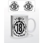 "Birthday ""Time to Party -18 Years Old"" 11 oz. Mug (MG22528)"