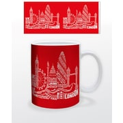 "Citography  ""London Red"" 11 oz. Mug (MG23000)"