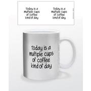 """""""Multiple Cups of Coffee"""" 11 oz. Mug (MGA82173)"""