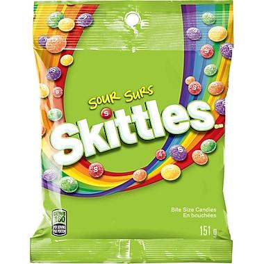 Skittles – Bonbons fruités acidulés, 151 g