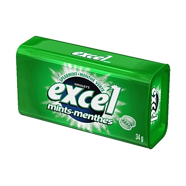 Excel Mints, Spearmint, 34g