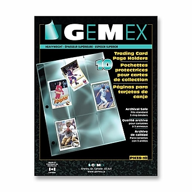 Gemex Heavyweight Trading Cards Page Holder