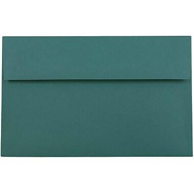 JAM PaperMD – Enveloppes d'invitations de format A10, 6 x 9,5 po, bleu sarcelle, 1000/paquet