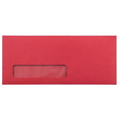JAM Paper® #10 Window Envelopes - 4 1/8