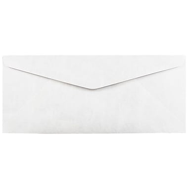 JAM Paper® Tyvek Envelopes, #14, 5 x 11 1/2, White, 50/Pack