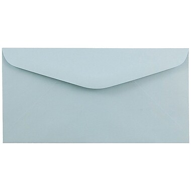JAM PaperMD – Enveloppes Monarch, 3 7/8 x 7 1/2 po, bleu pâle