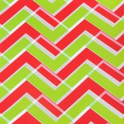 JAM Paper® Christmas Wrapping Paper, Candy Cane Zig Zag Stripe Design Gift Wrap, 25 Sq Ft, Sold Individually (165523887)
