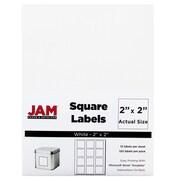 "JAM Paper® Square Address Labels, 2"" x 2"", White, 120/Pack (367831069)"
