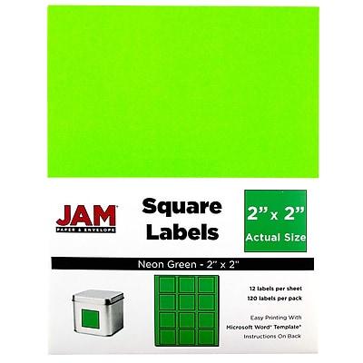 JAM Paper® Square Address Labels, 2
