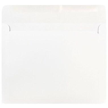 JAM PaperMD – Enveloppes format livret, 8 3/4 x 11 1/2 po, blanc, 50/paquet