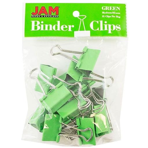 Shop Staples For JAM Paper® Binder Clips, Medium, 1.25