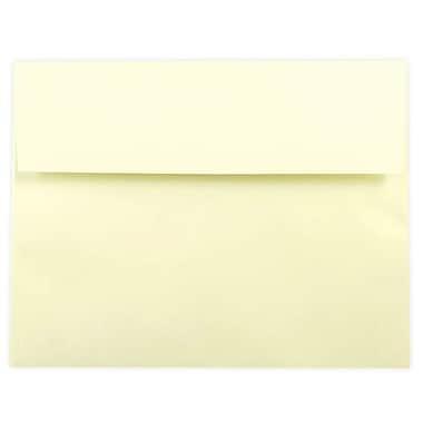 JAM Paper® 6 1/4 x 8 1/4 Envelopes, Ecru, 100/Pack