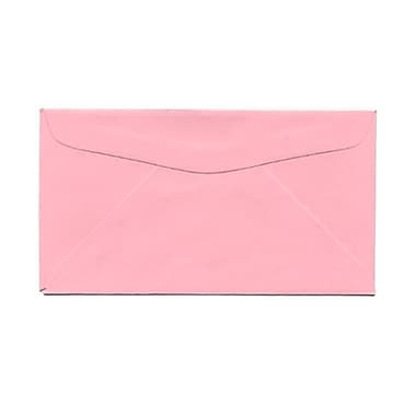 JAM PaperMD – Enveloppes commerciales nº 6 3/4, 3 5/8 x 6 1/2 po, rose, 500/paquet