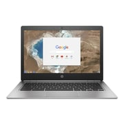 "HP® Chromebook 13 G1 13.3"" Notebook PC, Intel Core m7 processor, 32GB eMMC, 16GB, Chrome OS, Silver"