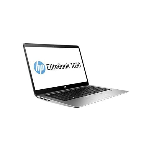 """HP® EliteBook 1030 G1 W0T06UT 13.3"""" Notebook PC, LCD, Intel m5-6Y54, 256GB SSD, 8GB RAM, Windows 10 Pro, Silver (W0T06UT#ABA)"""
