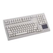 CHERRY® Wired PS/2/USB Compact Keyboard, Black (G80-11900LTMUS-0)