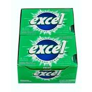 Excel – Gomme à mâcher sans sucre, paq./12