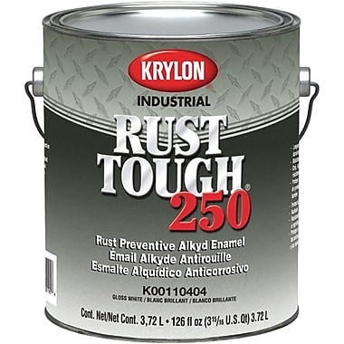 Krylon® Industrial Rust Tough® 250 Acrylic Modified Alkyd Enamel, Safety Red, 1gal, Low VOC (K00110101-16)