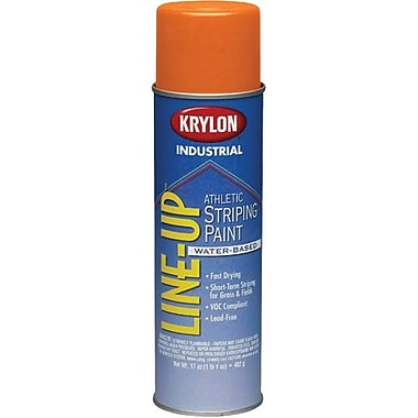 Krylon® Industrial Lineup Waterbased Athletic Orange 17oz (K08307)