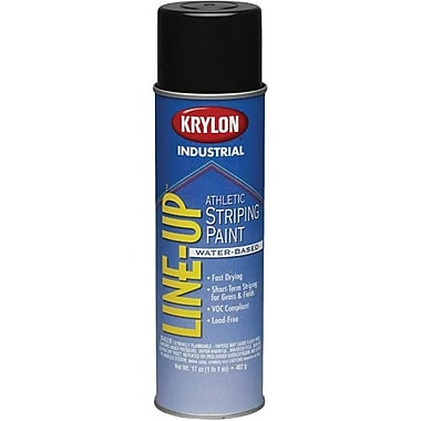 Krylon® Industrial Lineup Waterbased Athletic Black 17oz (K08310000)